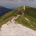 Tatry- z Wołowca na Rakoń- lipiec 2013 #góry #Lipiec2013 #Rakoń #SzlakGórski #Tatry