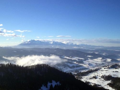 Tatry w Wysokiej #góry #pieniny #homole #wysoka #durbaszka
