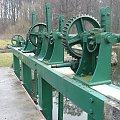 Eletrownia wodna na rzece Wieprz w Michalowie, urządzenia jazu #Michalów #ElektrowniaWodna #Wieprz