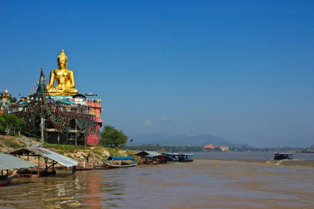 Rejs po rzece Mekong - złoty trójkąt #ZłotyTrójkąt #Mekong #ltajlandia #birma #laos