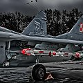 NA OSTRO !!! Mikoyan Gurevich MiG-29 A Fulcrum Poland - Air Force
