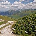 zejście z Rakonia na Grzesia #Tatry #TatryZachodnie #góry #Lipiec2013