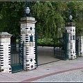 wejście do parku #zabytki