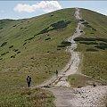 zejście czy, jak kto woli, podejście z/na Rakonia #góry #Lipiec2013 #Rakoń #Tatry #TatryZachodnie