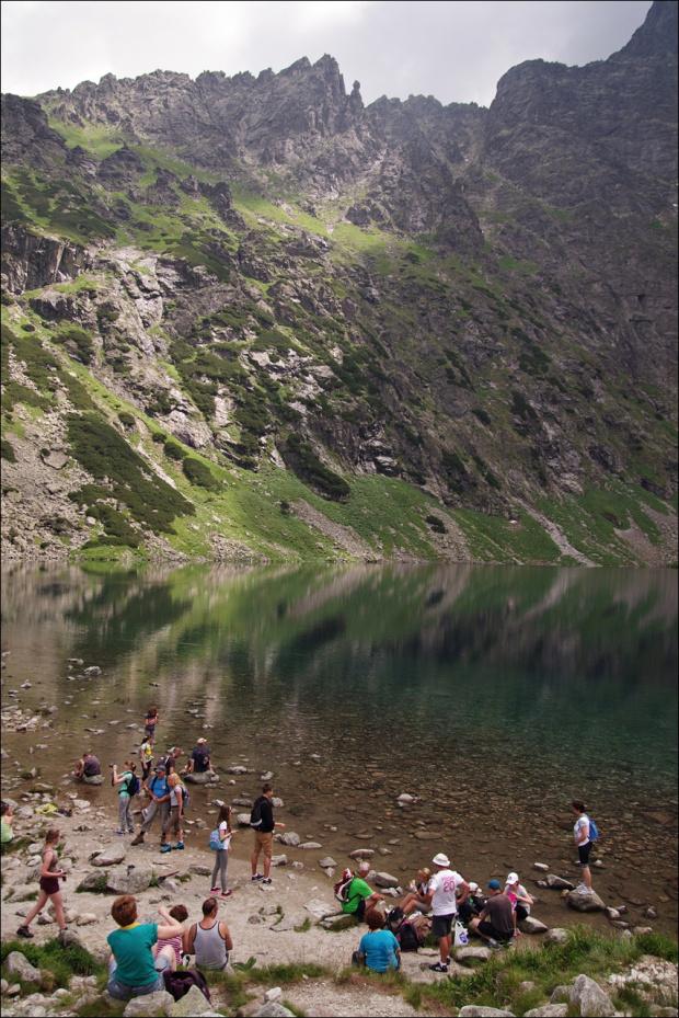 #góry #Lipiec2014 #CzarnyStaw #Tatry