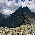 Wysoka - widok z podejścia na Wagę... #krajobraz #góry #Tatry #panorama #arietiss