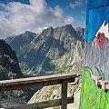 Widok z najwyżej położonego WC jaki widziałem... #krajobraz #góry #Tatry #arietiss
