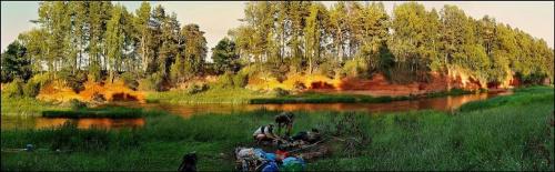 wspomnienie. Każde zdjęcie jest wspomnieniem. #rzeki #lato #biwaki