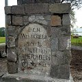 Grzegorze - pomnik poległych #Grzegorze #rygielpisz