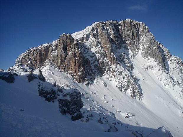 Trogkofel ( Creta di Aipis) 2280 m #Alpy #Austria #Narty #Nassfeld