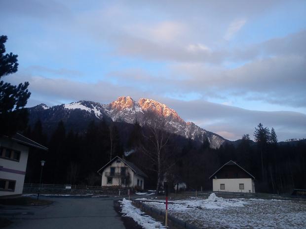 Mały bonus po nartach :) #Alpy #Austria #Narty #Nassfeld