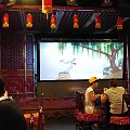 Teatr Cieni w restauracji w Pekinie #Chiny