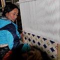 Ręczne tkanie dywanów w Tybecie #Chiny