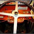 muzeum samochodow,kierownica na cala szerokosc i deska rozdzielcza #samochody