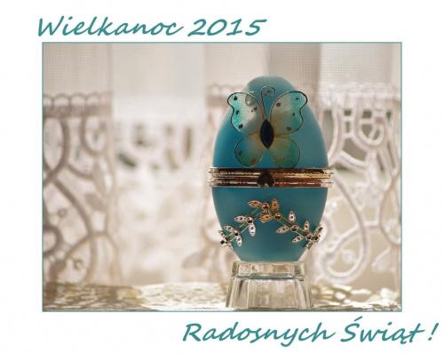 Radosnych, zdrowych i niosących ożywczą nadzieję Świąt Wielkanocnych, smacznego jajka, wspaniałych chwil wśród bliskich :) #Wielkanoc2015