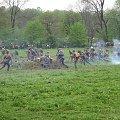 atak żołnierzy austriackich i pruskich #BitwaGorlicka