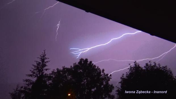 #błyskawice #burza #pioruny