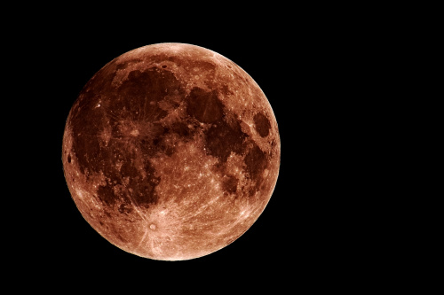 """dzisiejszy """"superKsiężyc"""""""
